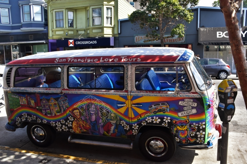 San Francisco, Haight-Ashbury, van