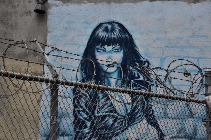 Street art in Mission District, San Francisco