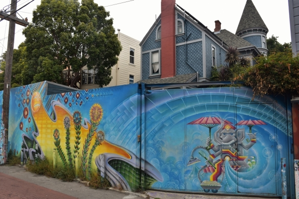 San Francisco, Street art in Mission District