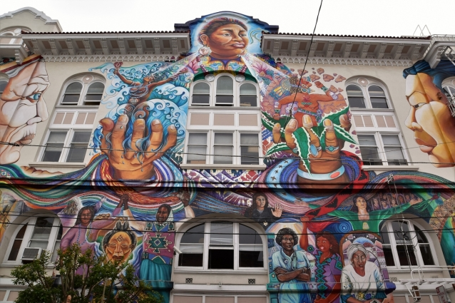 San Francisco, Mission District, street art, Women's Building
