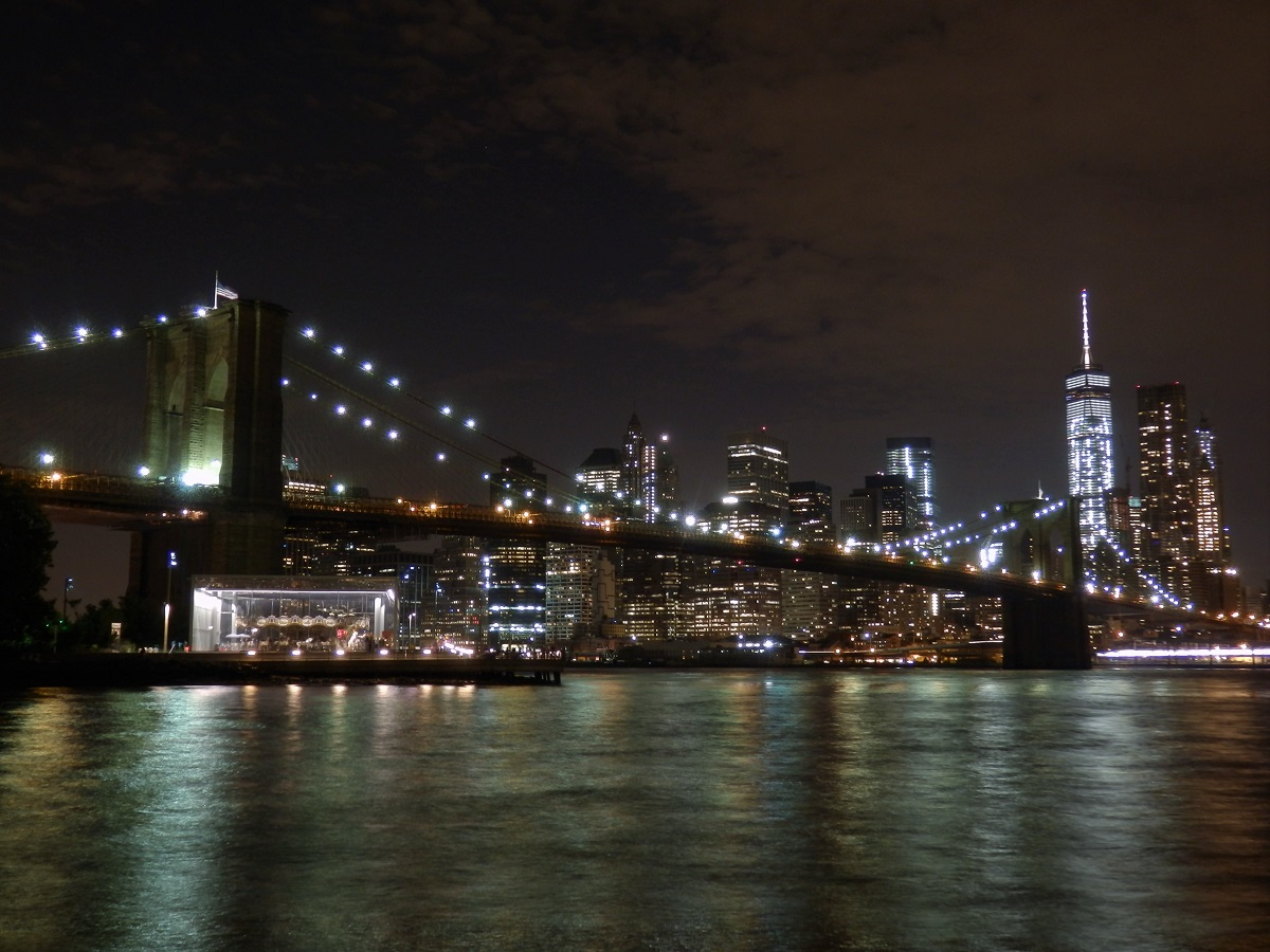 New York, Brooklyn Bridge, Manhattan