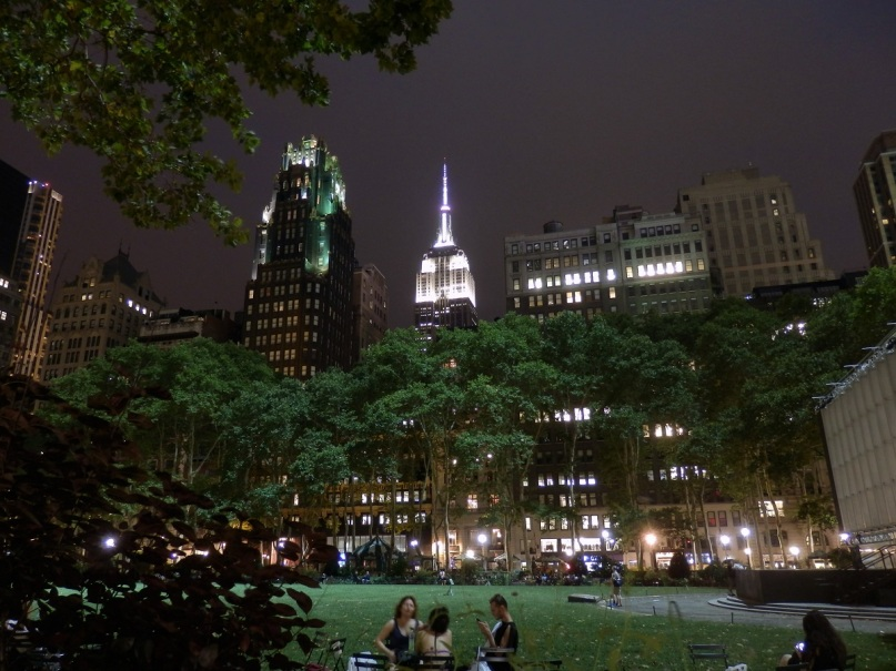New York, Bryant Park, Empire State Building