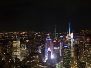 New York, Empire State Building, Times Square