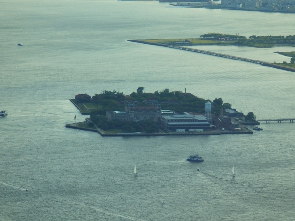 New York, One World Trade Center, Ellis Island