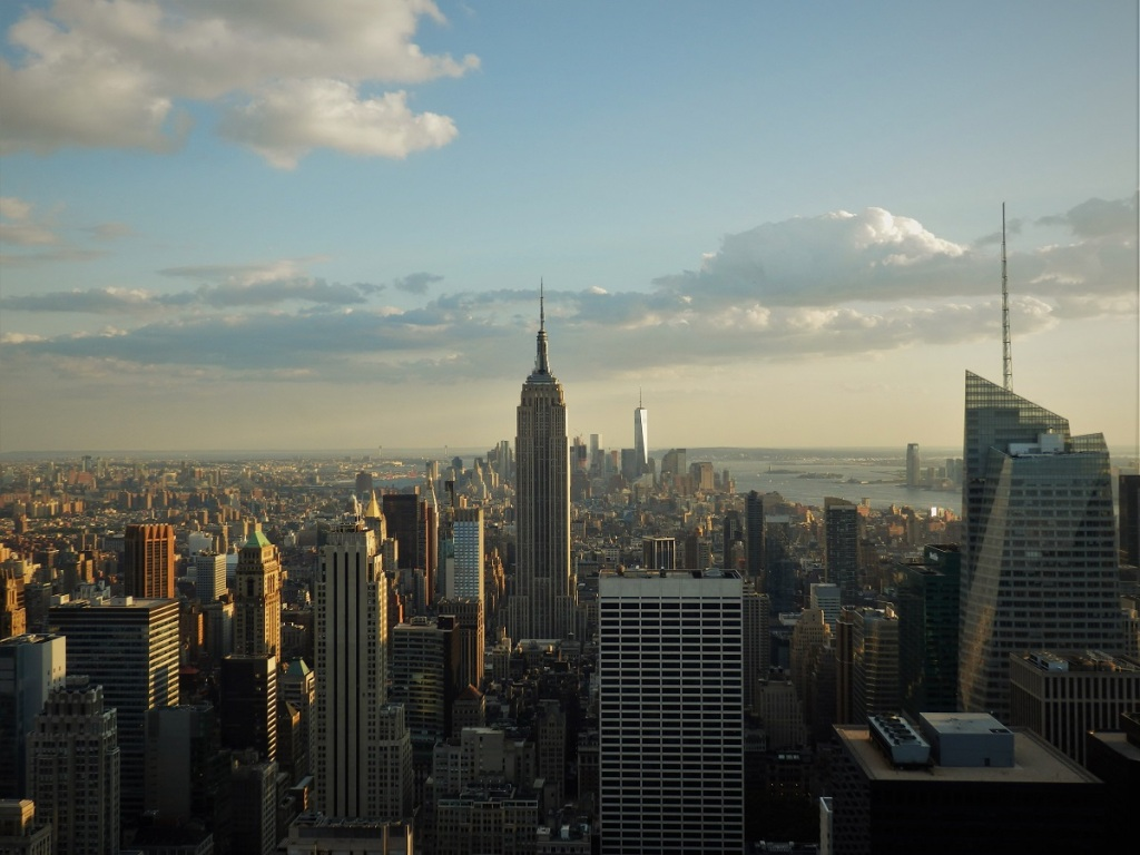 New York, Rockefeller Center, Empire State Building, Manhattan