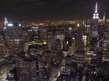 New York, Rockefeller Center, Chrysler Building, Empire State Building, One World Trade Center