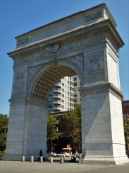 New York, Washington Square Arch