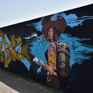 Street art, Saint-Nazaire, Pirate