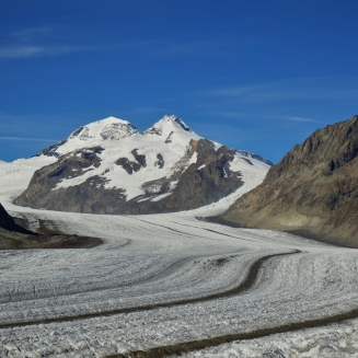 Aletsch glacier, Mönch