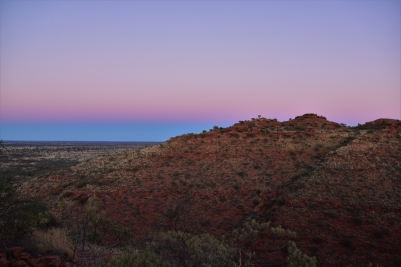 Kings Canyon, sunrise