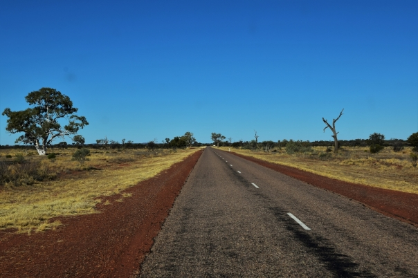 Roads in the outback