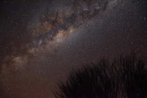 Outback, night sky, Milky Way