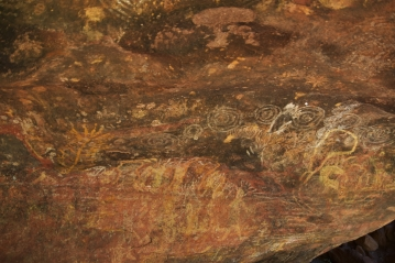 Uluru, aboriginal paintings