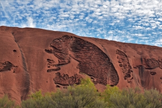 Uluru, base walk, lung