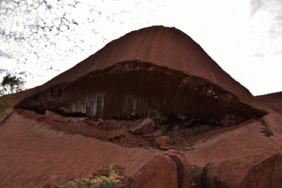 Uluru, base walk, mouth