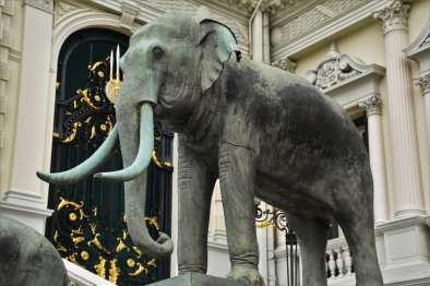 Bangkok, the Grand Palace, elephant