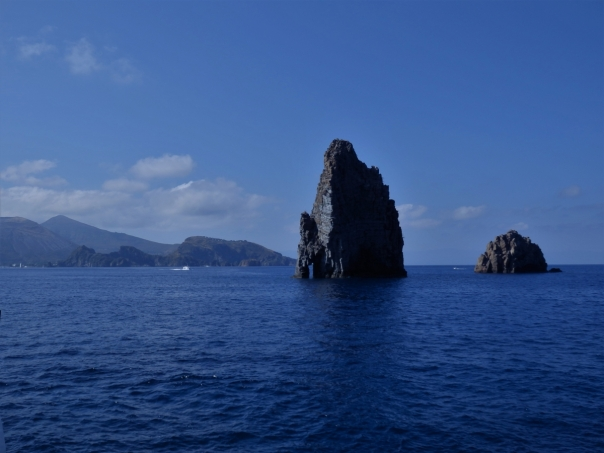Aeolian Islands, basaltic columns