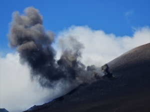 Mount Etna, smoke