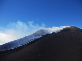 Mount Etna, crater