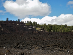 Mount Etna, solidified lava