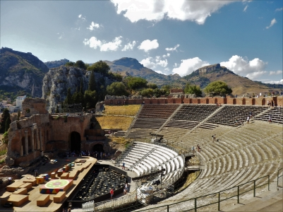 The antic theatre of Taormina