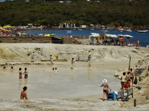 Vulcano, Aeolian Islands, mud bath