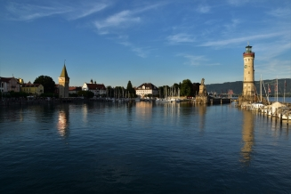 Lindau, harbour
