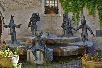 Narre Brunnen Fountain, Lindau