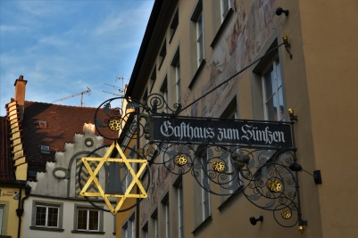 Lindau, sign, Old Town