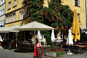 Lindau, terrace