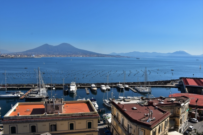 Naples, Castel dell'Ovo, view