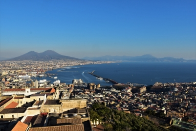 Naples, Castel Sant'Elmo, view