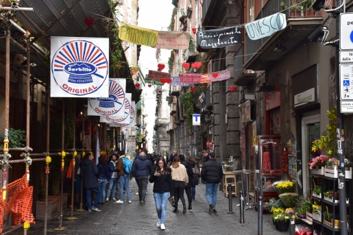 Naples, Historical Center, via dei Tribunali