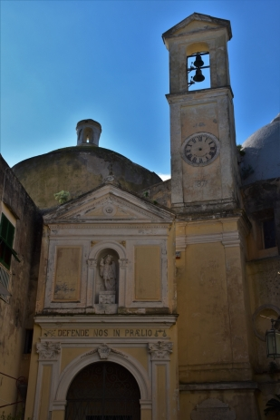 Procida, abbey of San Michele Archangelo