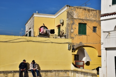 Procida, old people