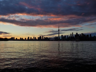 Toronto Islands, sunset