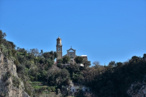 Amalfi Coast, church of San Pancrazio Martire