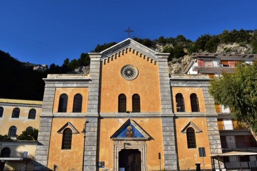 Amalfi Coast, Maiori, church of San Francesco