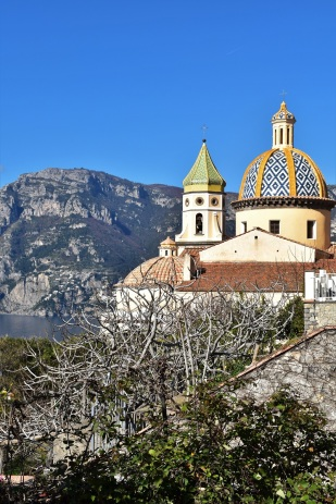Amalfi Coast, church of San Gennaro, Praiano