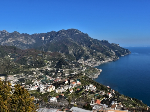 Amalfi Coast, Ravello, view