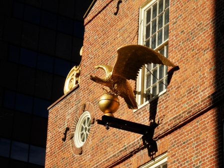Boston, Old State House, eagle