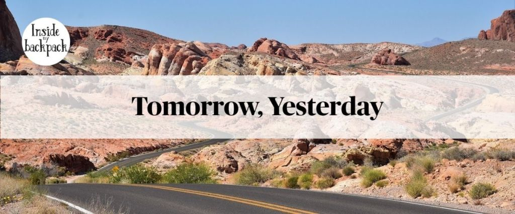 Tomorrow, Yesterday, article