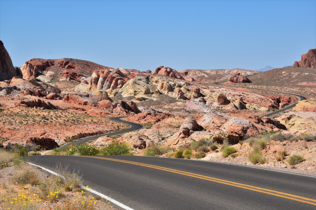Driving in the Valley of Fire