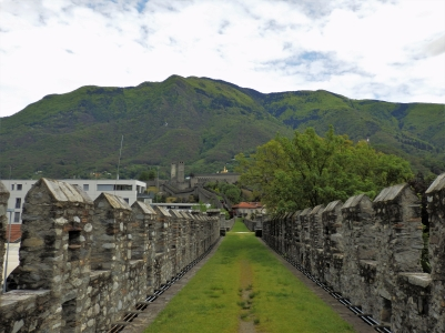 The ramparts of Bellinzona