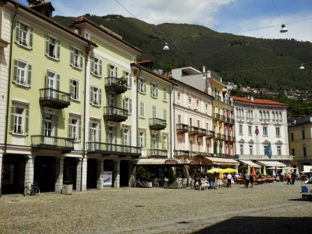 The Piazza Grande of Locarno