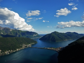 Lake Lugano, San Salvatore