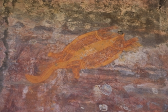 Aboriginal paintings at Ubirr, Kakadu