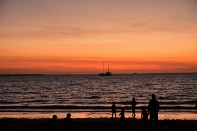 Sunset, Mindil Beach, Darwin
