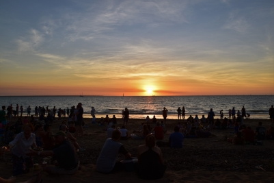 Mindil Beach, sunset, Darwin