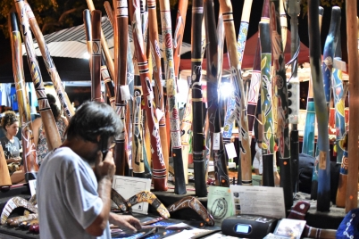 Mindil Market, Aboriginal craft, Darwin